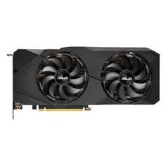 Видеокарта ASUS nVidia GeForce RTX 2080 , DUAL-RTX2080-A8G-EVO, 8Гб, GDDR6, Ret