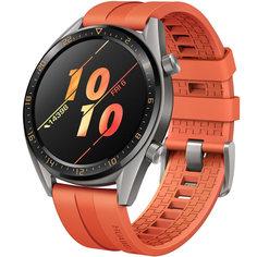 Смарт-часы Huawei Watch GT Active Titanium Grey, рем. Orange