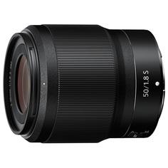 Объектив премиум Nikon NIKKOR Z 50mm f/1.8 S