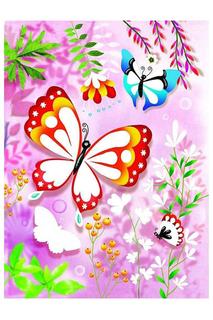 Раскраска Блестящие бабочки Djeco