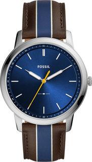 Мужские часы в коллекции The Minimalist 3h Мужские часы Fossil FS5554