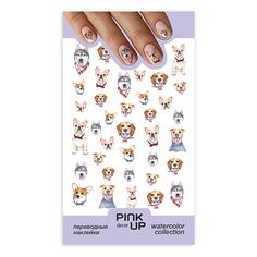 Наклейки для ногтей PINK UP DECOR FUN переводные тон 639