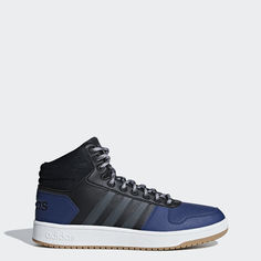 Высокие кеды Hoops 2.0 Mid adidas Essentials