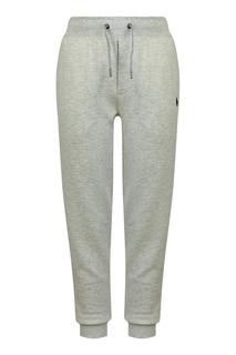 Серые трикотажные брюки Polo Ralph Lauren Kids
