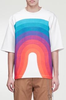 Белая футболка House Wave Dries Van Noten