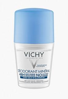 Дезодорант Vichy минеральный, без солей, алюминия. 48 часов свежести