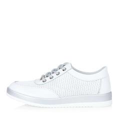 Кроссовки Белые кожаные кроссовки Respect