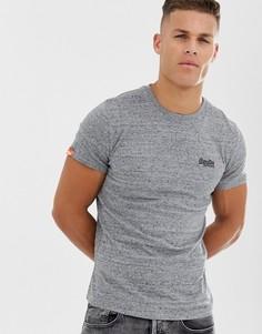 Серая футболка Superdry Orange - Серый