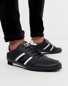 Черные кроссовки BOSS - Черный