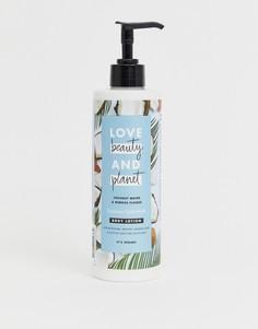 Лосьон для тела с кокосовой водой и ароматом цветков мимозы Love Beauty and Planet - Luscious Hydration, 400 мл - Бесцветный