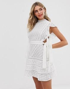 Платье мини Stevie May - bonita - Белый