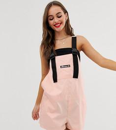 Комбинезон-шорты с пряжками Ellesse recycled - Розовый