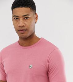 Длинная футболка с необработанным краем Le Breve Tall - Розовый