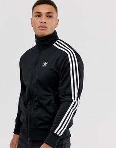 Черная спортивная куртка adidas Originals firebird - Черный