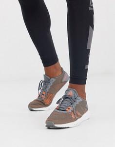 Серые кроссовки с пеноматериалом flexagon Reebok training - Серый
