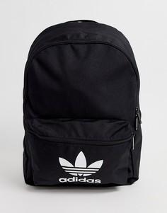 Черный рюкзак с логотипом adidas Originals - Черный