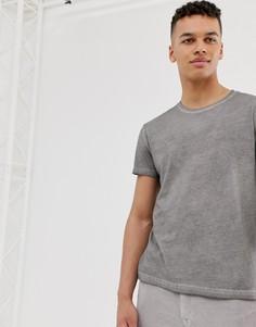 Выбеленная футболка Cheap Monday - Черный