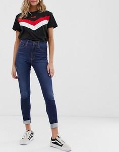 Супероблегающие джинсы Levis mile high - Синий