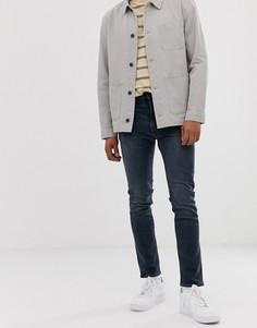Выбеленные зауженные джинсы с классической талией Levis 510 - ivy - Синий