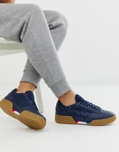 Темно-синие массивные кроссовки ellesse piacentino - Темно-синий