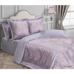 Комплект постельного белья Ecotex евро, сатин-жаккард Эстетика Летиция (4650074956961)