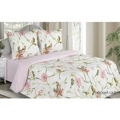 Комплект постельного белья Ecotex семейный, поплин Поэтика Райский сад (4660054341960)
