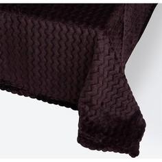 Плед Ecotex 150х200 темно-фиолетовый (4660054343131)