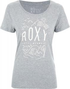 Футболка женская Roxy Itty Be Tee Local Mermaid, размер 48-50