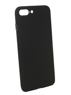 Чехол Brosco для APPLE iPhone 7 Plus Softtouch Black IP7P-4SIDE-ST-BLACK