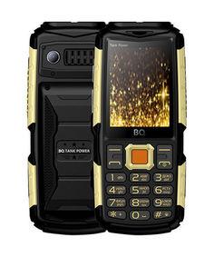 Сотовый телефон BQ BQ-2430 Tank Power Black-Gold