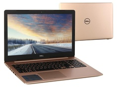 Ноутбук Dell Inspiron 5570 Gold 5570-5840 (Intel Core i5-8250U 1.6 GHz/8192Mb/1000Gb/DVD-RW/AMD Radeon 530 2048Mb/Wi-Fi/Bluetooth/Cam/15.6/1920x1080/Linux)