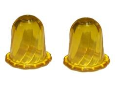 Массажер Торг Лайнс Тюльпан с пупырышками Yellow 3179