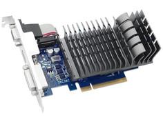 Видеокарта ASUS GeForce GT 710 954Mhz PCI-E 2.0 2048Mb 1800Mhz 64 bit DVI VGA HDMI HDCP GT710-2-SL