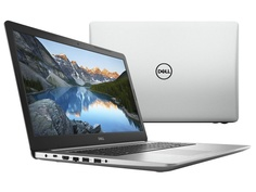 Ноутбук Dell Inspiron 5770 Silver 5770-5901 (Intel Core i7-8550U 1.8 GHz/16384Mb/2000Gb+256Gb SSD/DVD-RW/AMD Radeon 530 4096Mb/Wi-Fi/Bluetooth/Cam/17.3/1920x1080/Windows 10 Home 64-bit)
