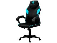 Компьютерное кресло ThunderX3 TX3-EC1BC EC1 Black-Cyan AIR