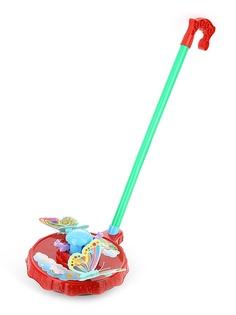 Каталка Shantou Gepai / Наша игрушка Бабочки с ручкой 42088