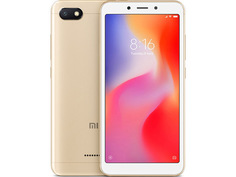 Сотовый телефон Xiaomi Redmi 6A 2/32GB Gold