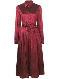Max Mara платье-рубашка миди
