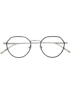 Calvin Klein очки в круглой оправе