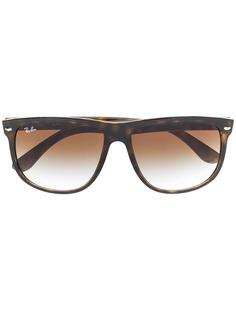 Ray-Ban солнцезащитные очки черепаховой расцветки