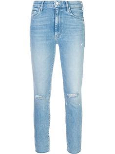 Mother джинсы скинни с принтом