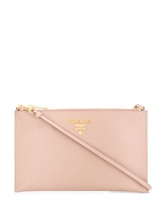 Prada zipped clutch