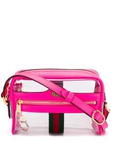 Gucci прозрачная мини-сумка Ophidia