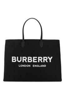 Текстильная сумка-шоппер Burberry