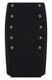 Шерстяная юбка Ralph Lauren