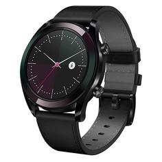 """Смарт-часы HUAWEI Watch GT Elegant, 42мм, 1.4"""", черный / черный [55023844]"""