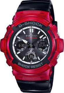 Японские мужские часы в коллекции G-SHOCK Мужские часы Casio AWG-M100SRB-4AER