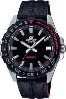 Японские мужские часы в коллекции Edifice Мужские часы Casio EFV-120BL-1AVUEF