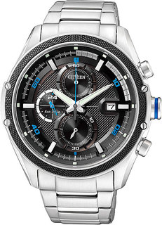 Японские мужские часы в коллекции Eco-Drive Мужские часы Citizen CA0120-51F