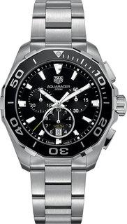 Швейцарские мужские часы в коллекции Aquaracer Мужские часы TAG Heuer CAY111A.BA0927